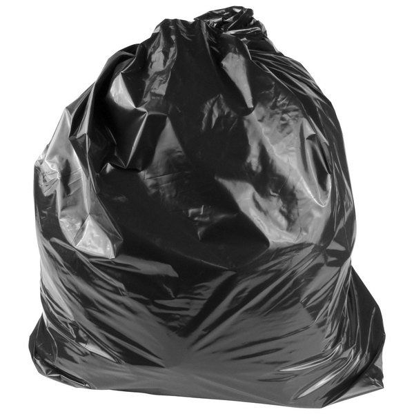 This 45 gallon Lavex Industrial Contractor trash bag combines the elasticity of regular low density trash can liners with a thick 3 mil wall to stand up to the toughest of tasks. Great for use both inside and outside, this rugged, heavy-duty 45 gallon trash can liner is ideal for heavy trash that contains sharp, irregular objects. Plus, a reinforced seal provides extra structural support to prevent punctures and tears! Strong enough to withstand the demands of waste collection on construction si