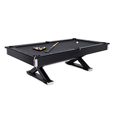 Jaxxon Pool Table Pool Table Black Top Pool Table Games Room - Black top pool table