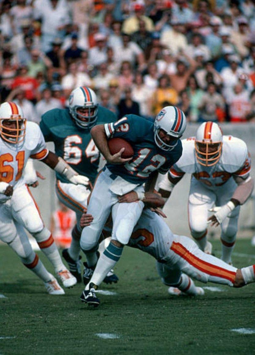 100% authentic 60fc1 21156 1976 Bucs sack Miami QB Bob Griese | Super '70s NFL | Nfl ...