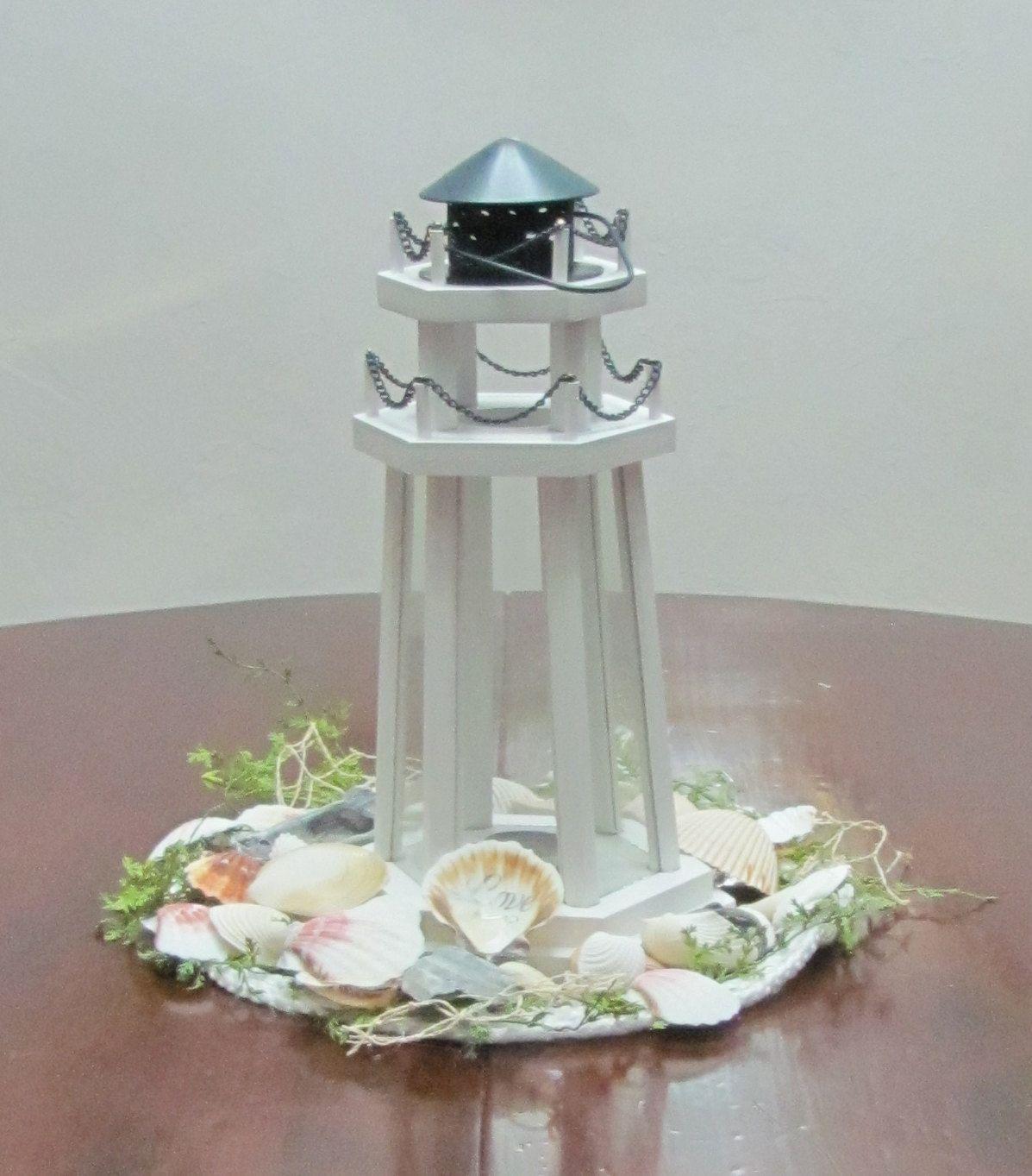 lighthouse centerpieces wedding event decor lighthouse lantern