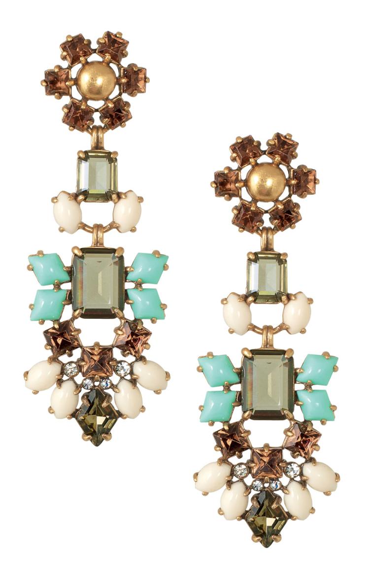 Stella and Dot Melanie Chandelier Earrings - you can wear them as ...
