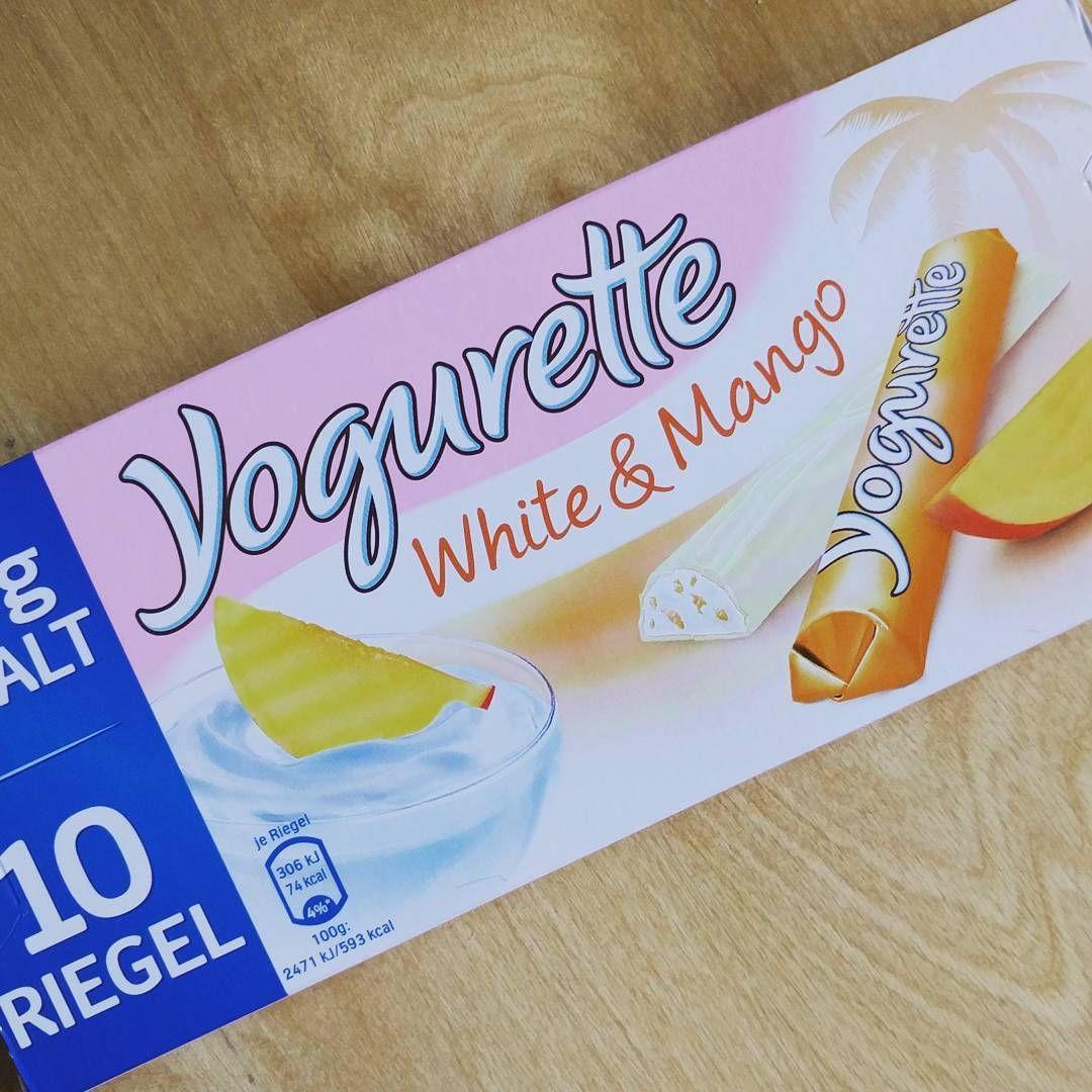Yogurette White Mango Das Ist Ein Solero Eis In Form Eines Kleinen Schokoriegels Aber Ansonsten Exakt Der Geschmac Yogurette Weisse Schokolade Schokoriegel