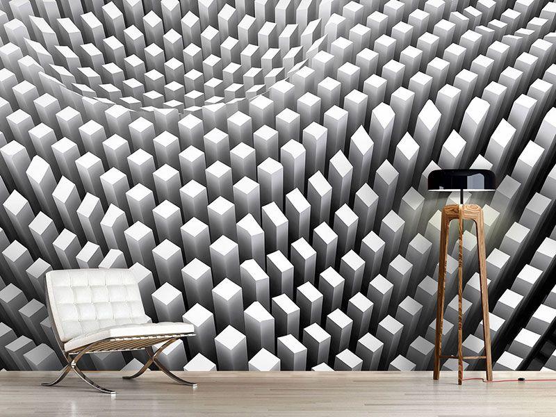 foto tapete 3d rasterdesign fototapeten 3d effekt. Black Bedroom Furniture Sets. Home Design Ideas