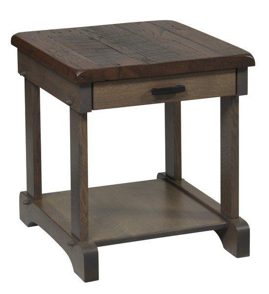 Amish Ole Barn End Table