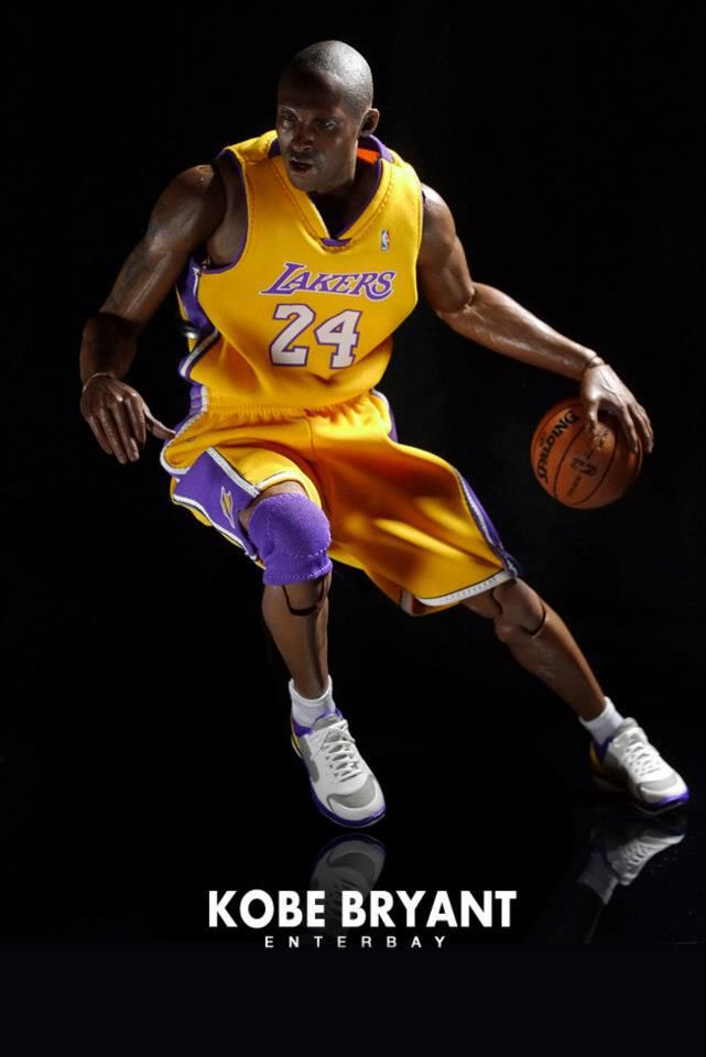 Kobe Bryant Fully Posable Action Figure ออนไลน อ ปซ โคบ ไบรแอนท น กบาส Nba ก ฬา