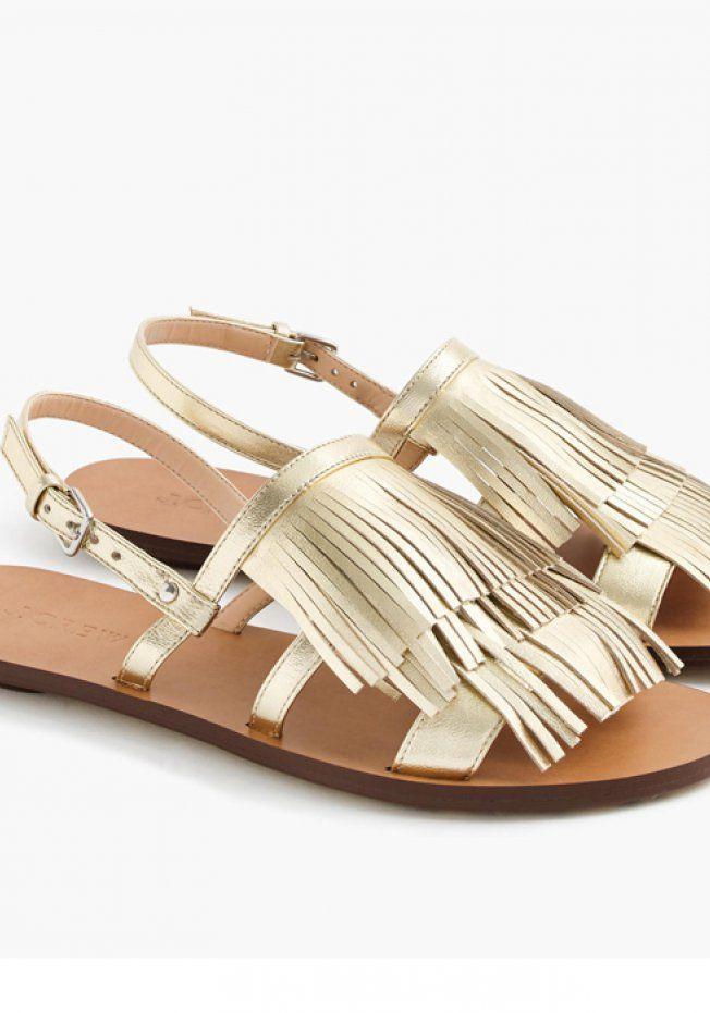 50 paires de sandales plates pour flâner cet été   Vêtements et ... 140222025726