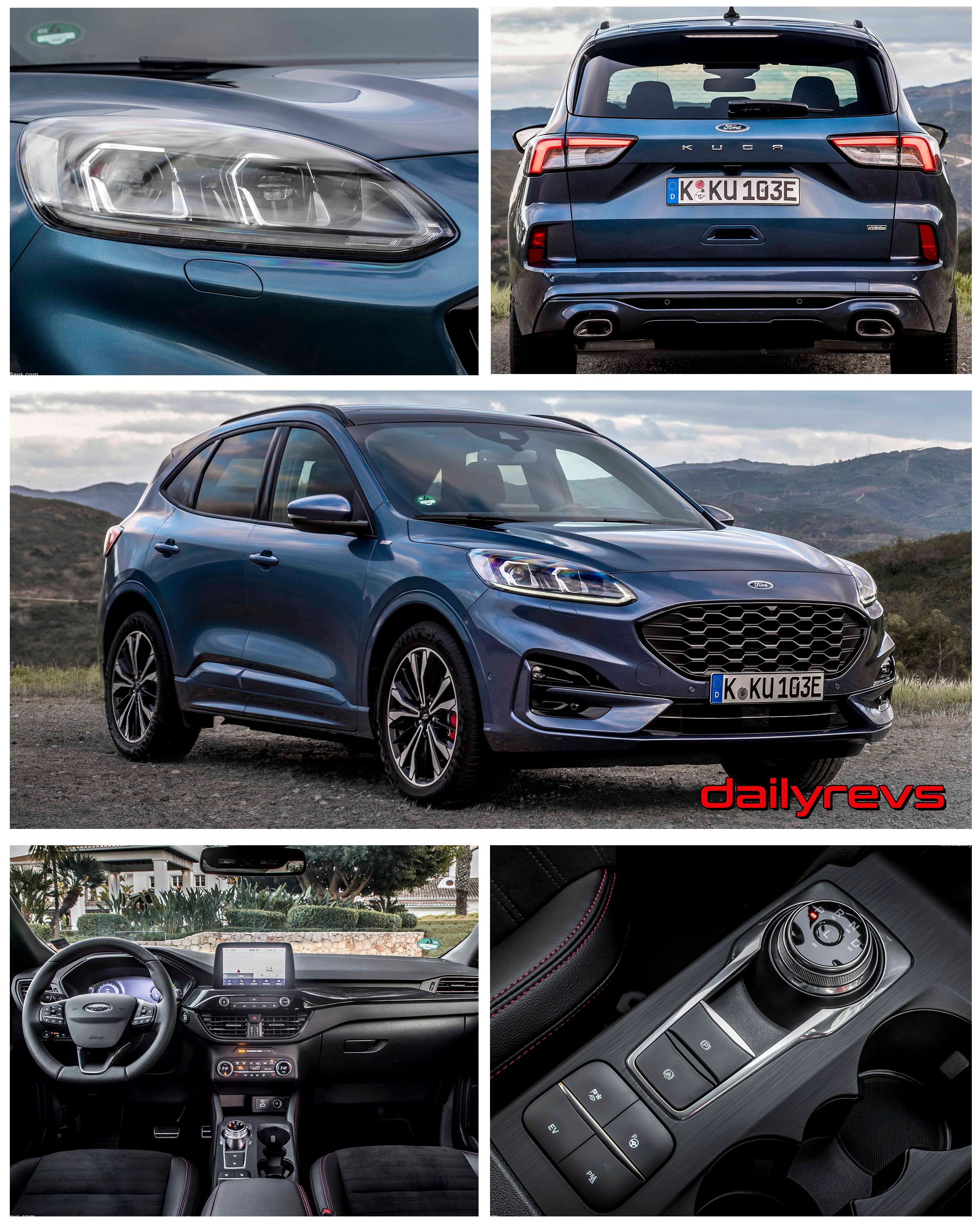 2020 Ford Kuga St Line Phev Dailyrevs Com In 2020 Ford Kuga Ford Ford Ranger
