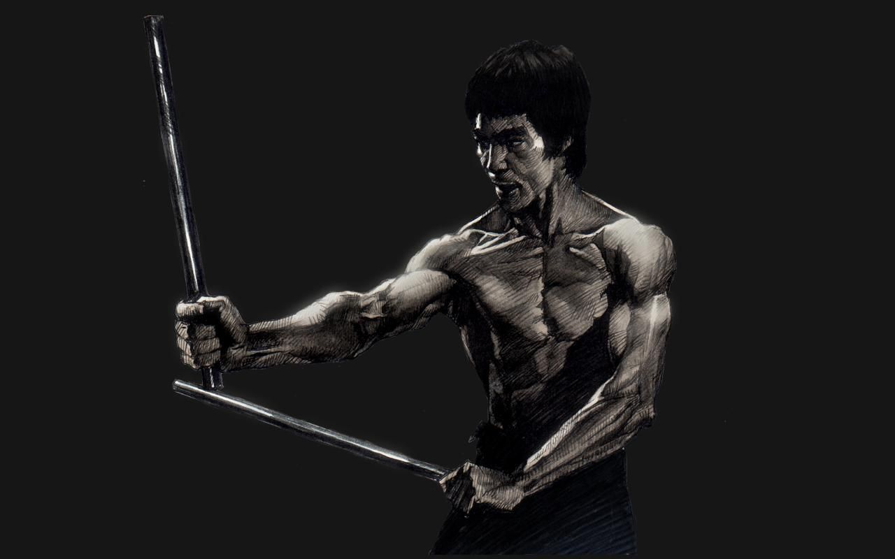 Bruce Lee Sketch HD Wallpaper | Bruce lee photos, Arts ...