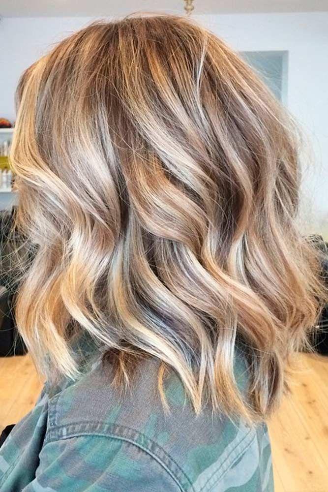 50 Chic Medium Length Layered Hair Medium Length Hair With