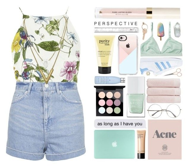 """""""BOTRS round one!"""" by itsfashioninfinity ❤ liked on Polyvore featuring Glamorous, Topshop, Bobbi Brown Cosmetics, Prada, Christy, The Hand & Foot Spa, MAC Cosmetics, Drybar, Casetify and adidas"""