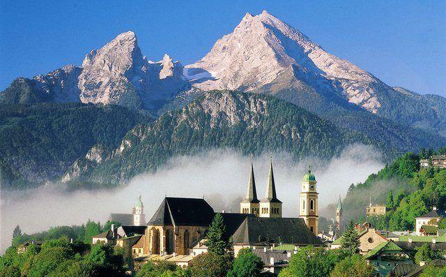 National Park Berchtesgaden, Bavaria, Almanya