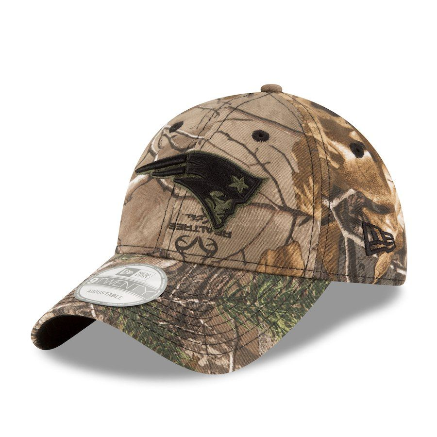 9d5f665b8ca Men s New England Patriots New Era Realtree Camo 9TWENTY Adjustable ...