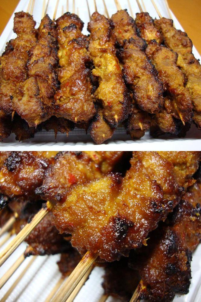 Sate Babi Manis Masakan Indonesia Resep Masakan Masakan