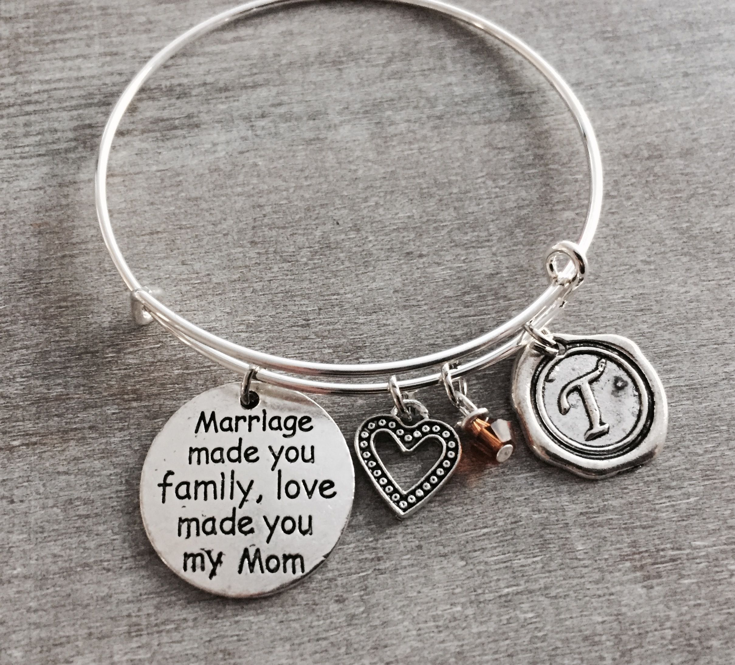 daughter sterling bracelet and sister mother personalized jewelry infinity silver pin