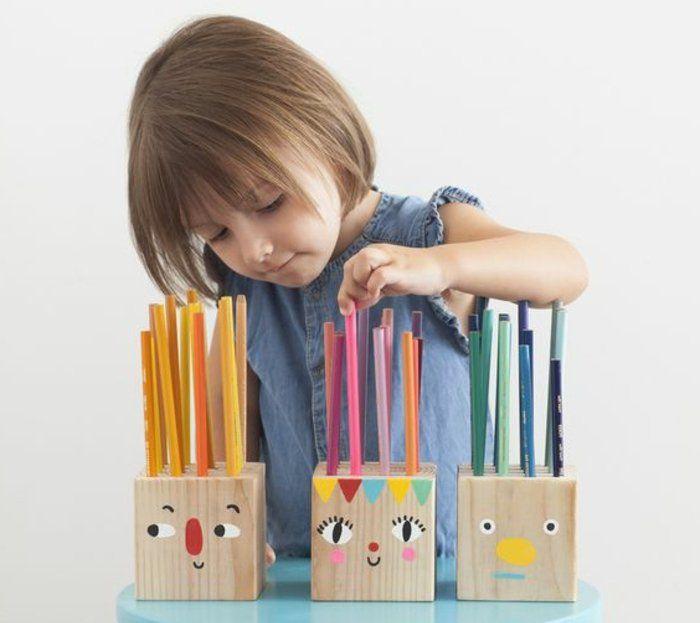 1001 id es pour fabriquer un pot crayon adorable soi m me diy pinterest crayon pot a. Black Bedroom Furniture Sets. Home Design Ideas