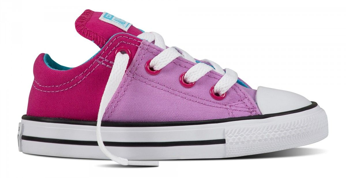 67c107912e1c Converse Chuck Taylor All Star Toddler Low Madison Fuchsia Glow Magenta Glow