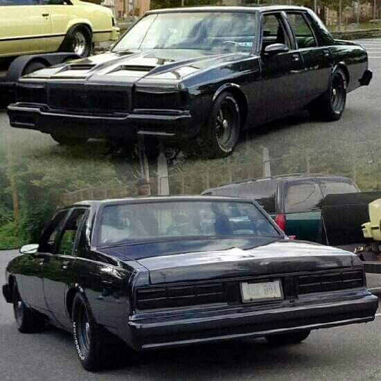 Blacked out Caprice