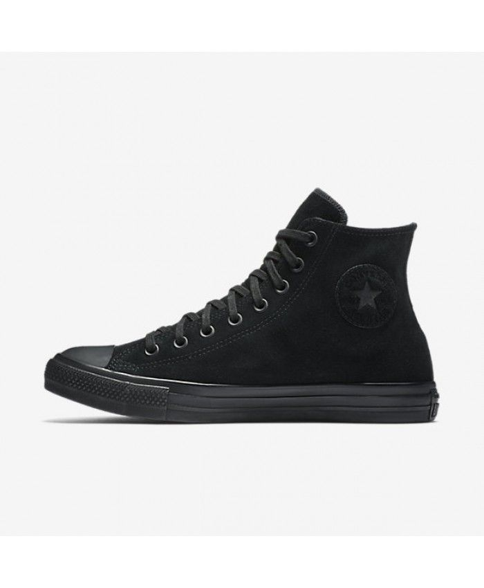 40520c2c7afed2 Converse Chuck Taylor All Star Water Resistant Suede High Top Black  157520C-001