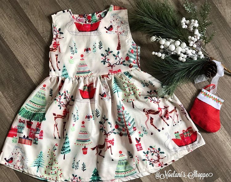 "Cecy 🌻 Small Boutique Owner on Instagram: ""It's the most wonderful time of the year Christmas dress 🎄 $16 size 4 & 5 available for pick up or shipping #christmasdress #christmasready…"""