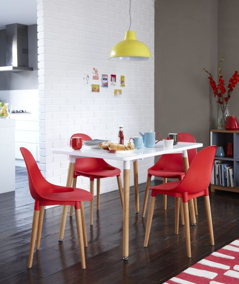 Tesco Direct Palermo Dining Table 149 Stacking Chair 49 Thorpness Large Metal Electric Pendant 29