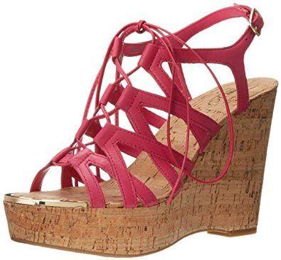 amazon aldo women's mcconkie platform sandal shoes