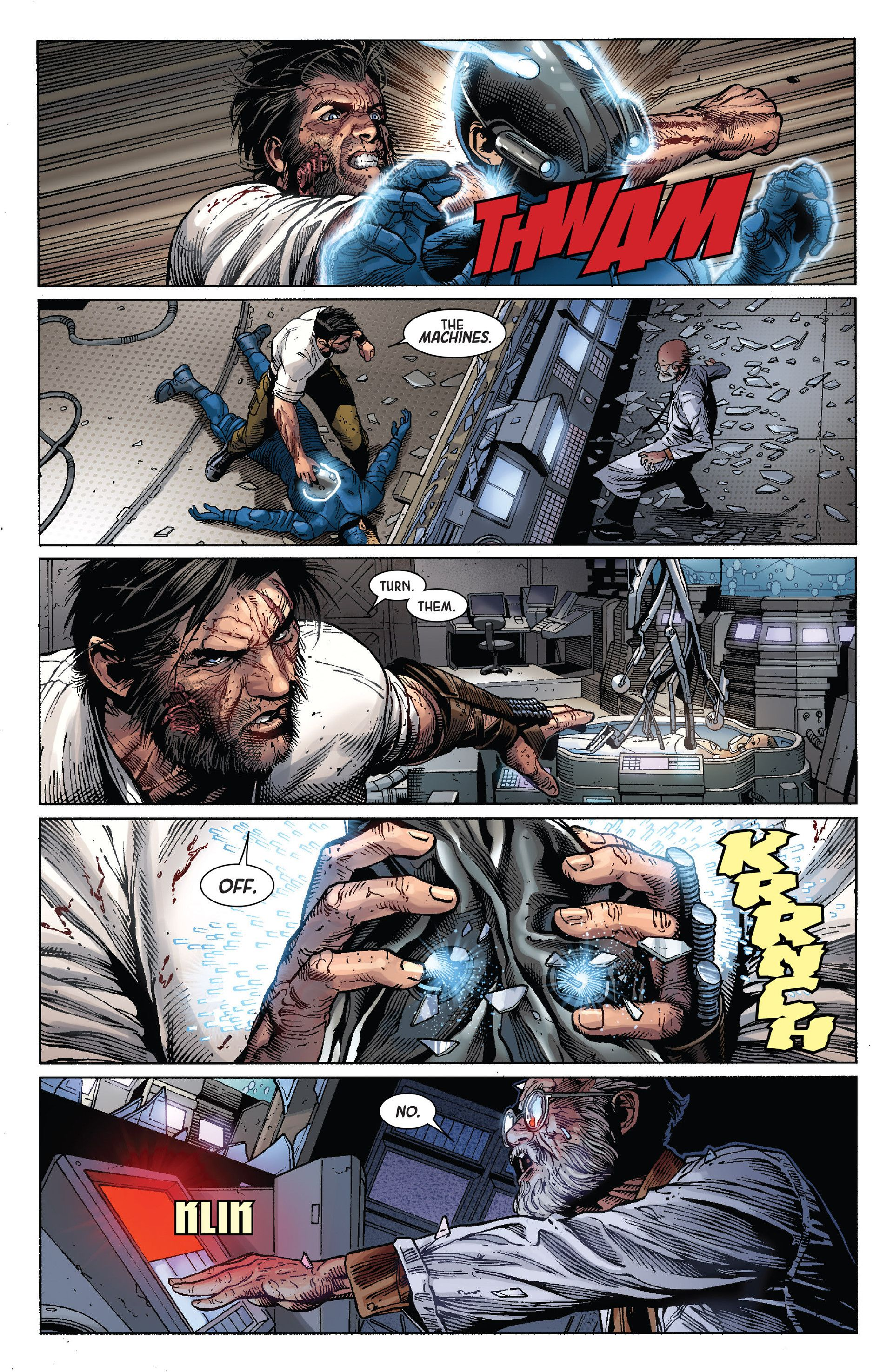 Death of Wolverine Issue #4 - Read Death of Wolverine Issue #4 comic online in high quality