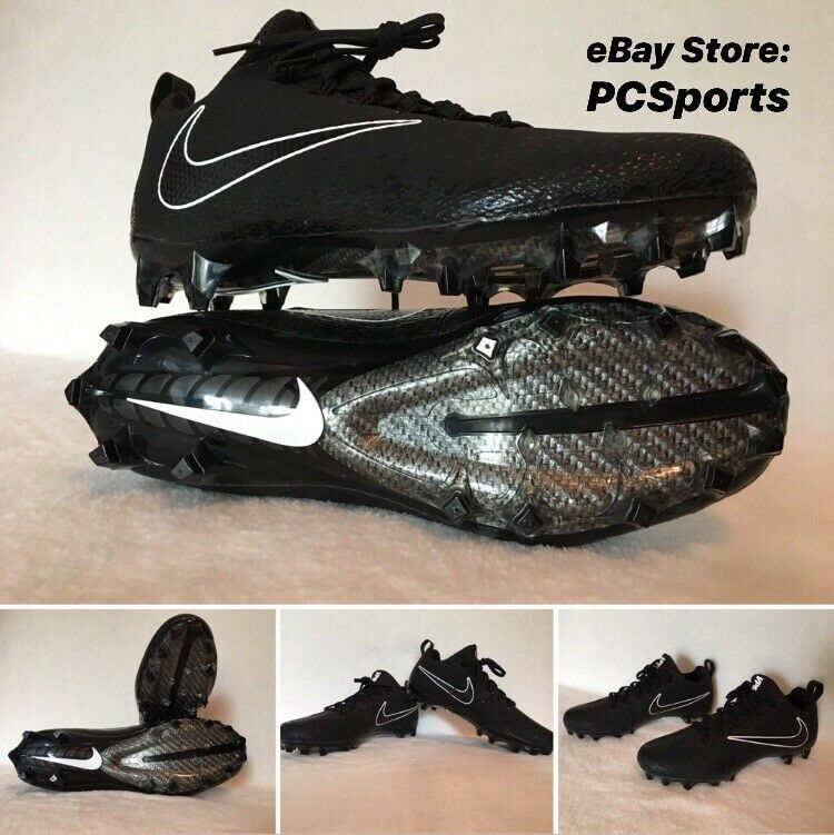 Size 9 Nike Vapor Untouchable Pro Football Cleats 833385 001 White//Black