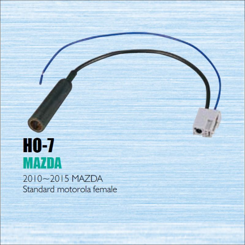 Car Radio Antenna Adapter Cable Wire For Mazda 2010~2013 Aftermarket ...