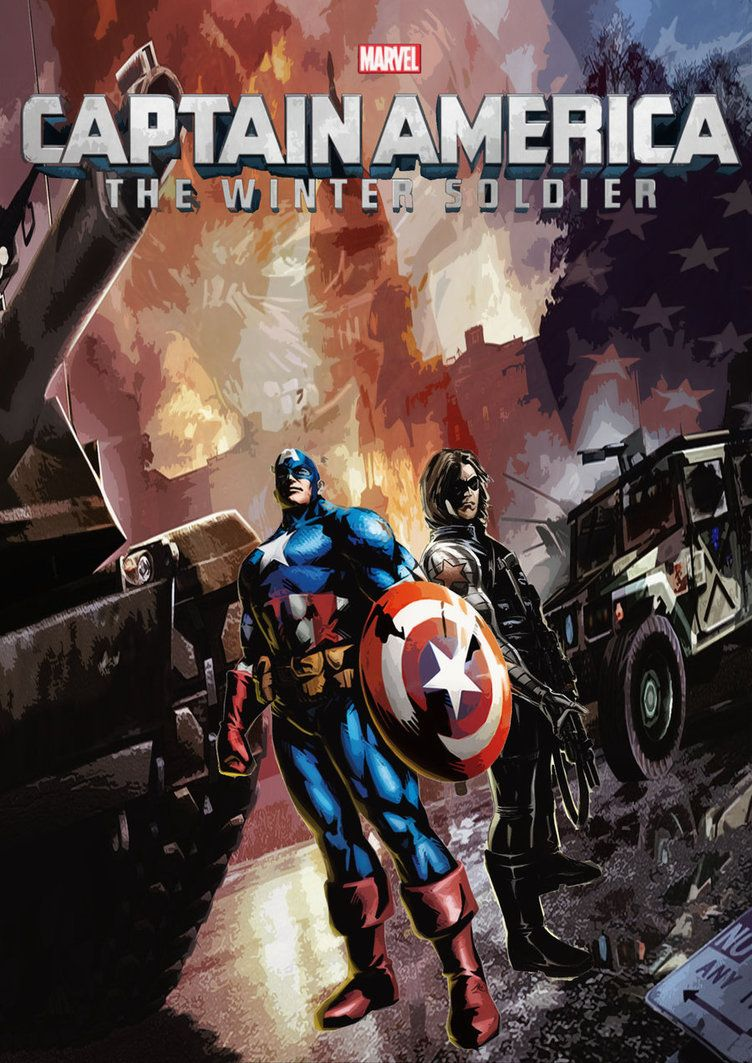 Captain America Winter Soldier Comic Book