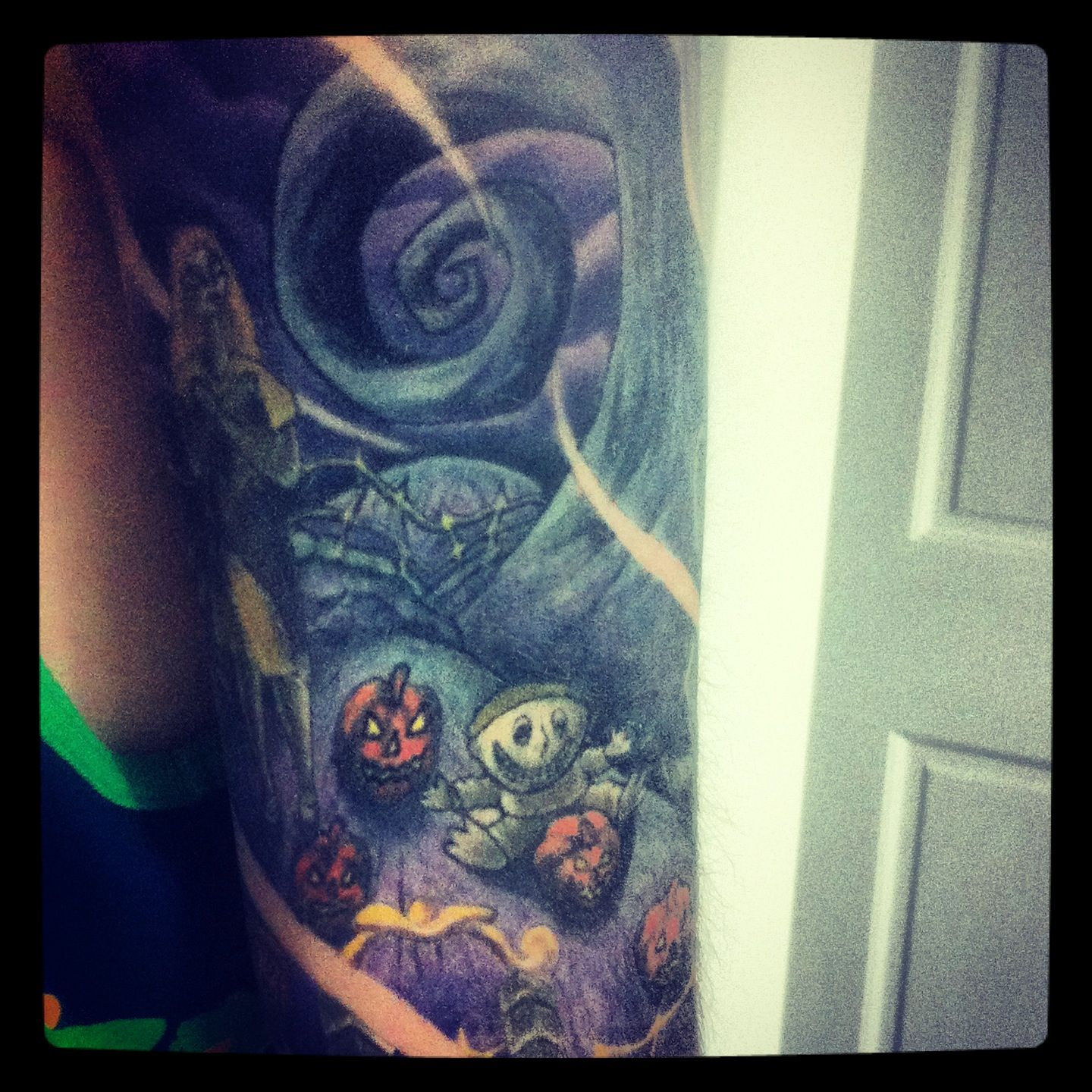 Nightmare Before Christmas tattoo | Tattoo obsessions. | Pinterest ...