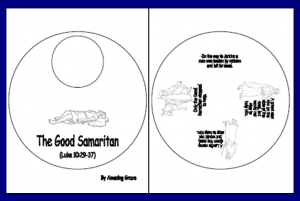 Good Samaritan Story Wheel Bible Teachings Good Samaritan Bible