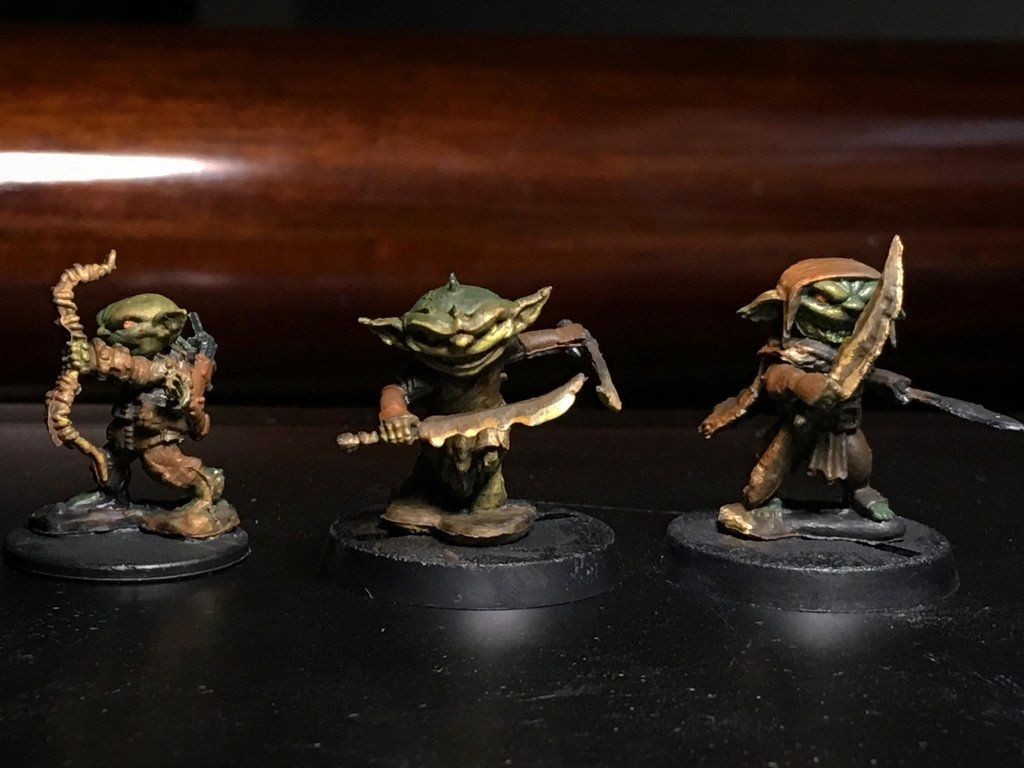Painted Up Some Goblins Minipainting D D Miniatures Fantasy