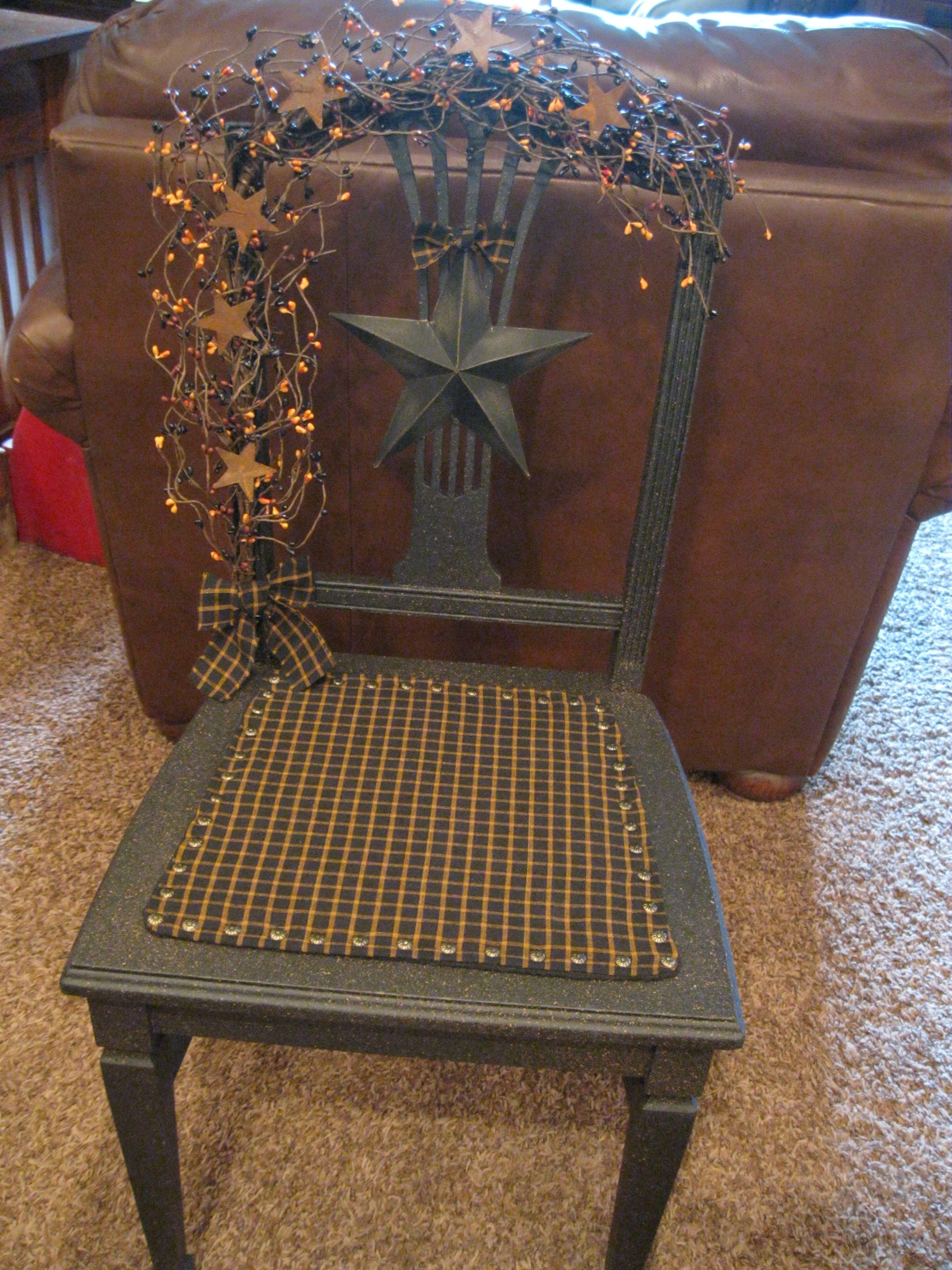 Primitive Grubby Chair Https://www.facebook.com/pages/Primitive