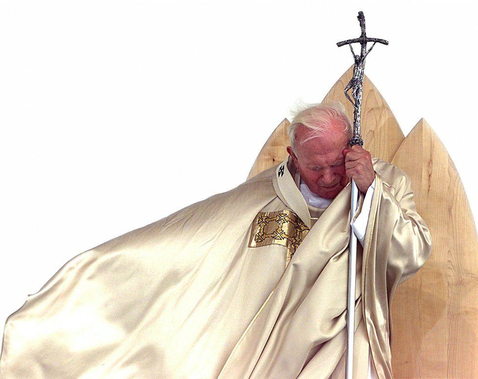 Un grand'uomo - Il Post John Paul II in Slovenia, September 1999