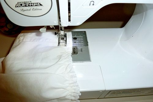 Shirring On A Brother Sewing Machine With DropIn Bobbin Sewing Classy Shirring On A Brother Sewing Machine