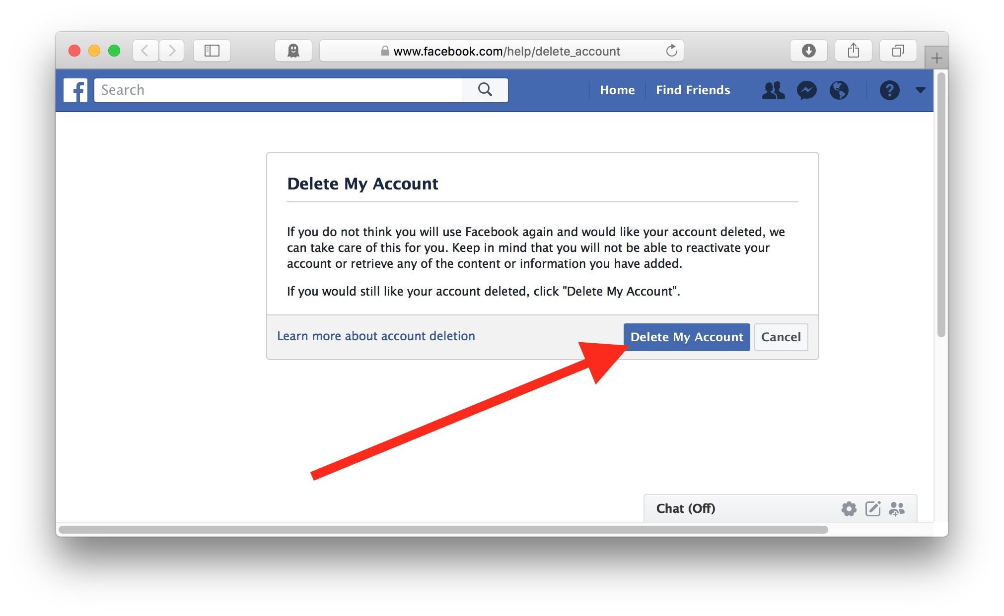 A Friend Recently Asked Me How Do I Delete My Facebook Account Well This Is Easy But Only If You Know H Delete Facebook Deactivate Facebook Social Media Guide