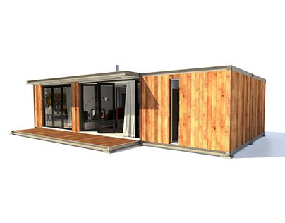 Domy Modulowe Kontenerowe Container House Custom Homes House Design