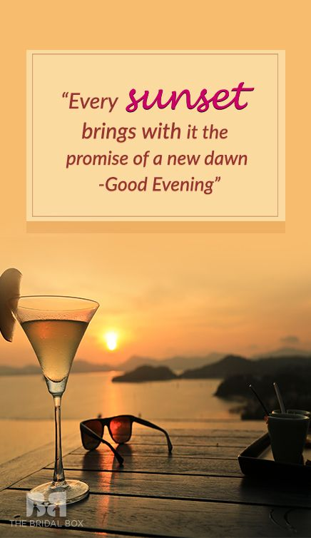 15 Best Good Evening Love Sms Texts Perfect For Sunsets Indoor