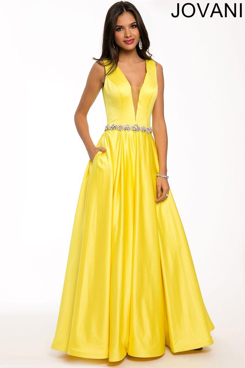 d476b9e5272 Plunging Neckline Designer Dress 23418