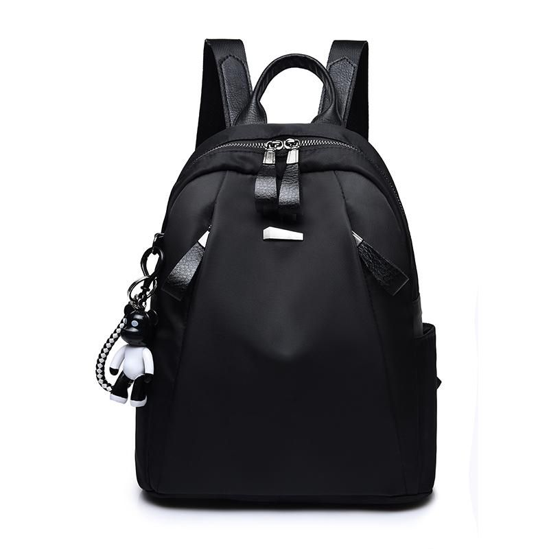 674999e8641a Buy Shoulder Bag Female 2018 New College Wind Student Simple Soft Leather  Backpack Japan And South Korea Casual Wild Handbag Tide Backpack PU Leather  ...