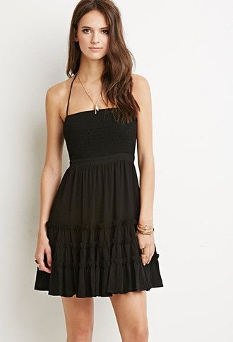 Tiered A Line Dress Forever 21 2000167206 Things I Covet