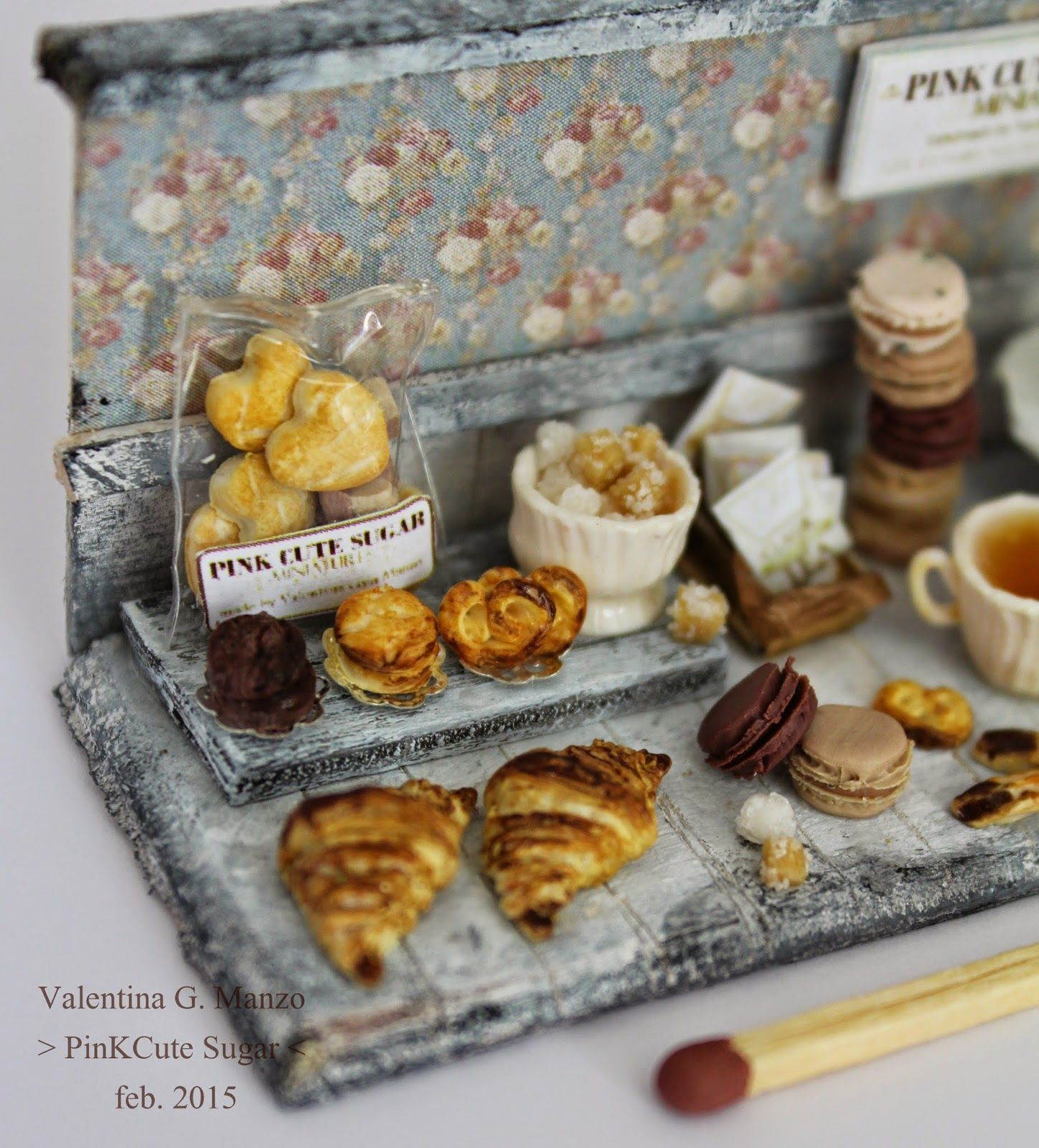 Valentina G. Manzo - PinkCute Sugar Miniatures: ➽ Miniature food
