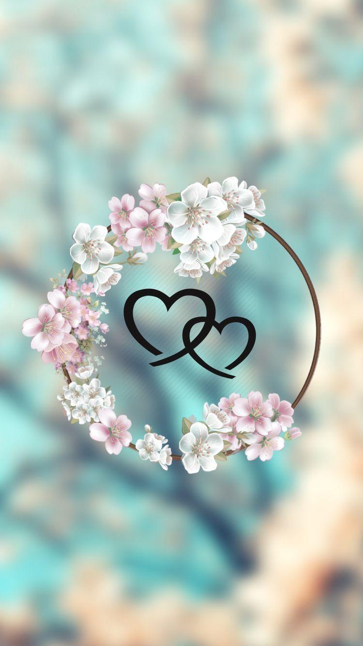 Background Heart Wallpaper Love Wallpaper Wallpaper Iphone Cute
