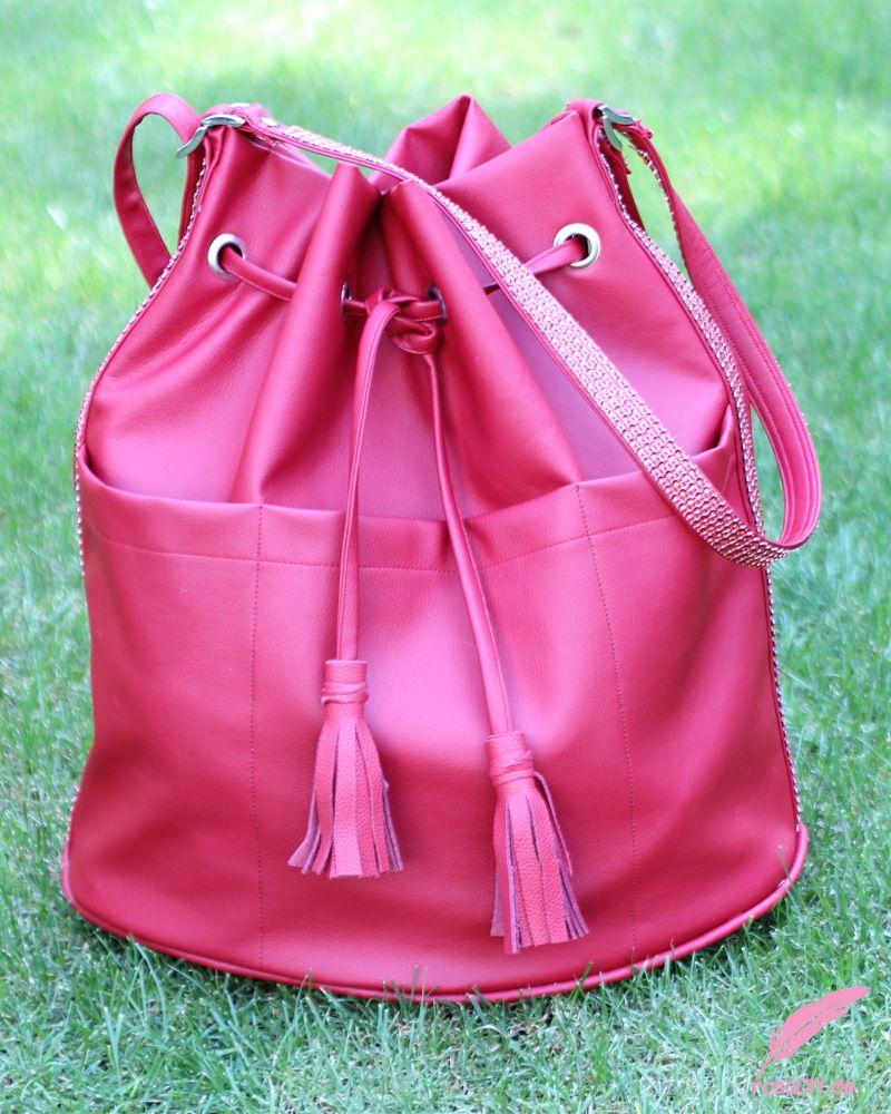 DIY XXL Bucket Bag nähen (mit Bildern) Bucket bag