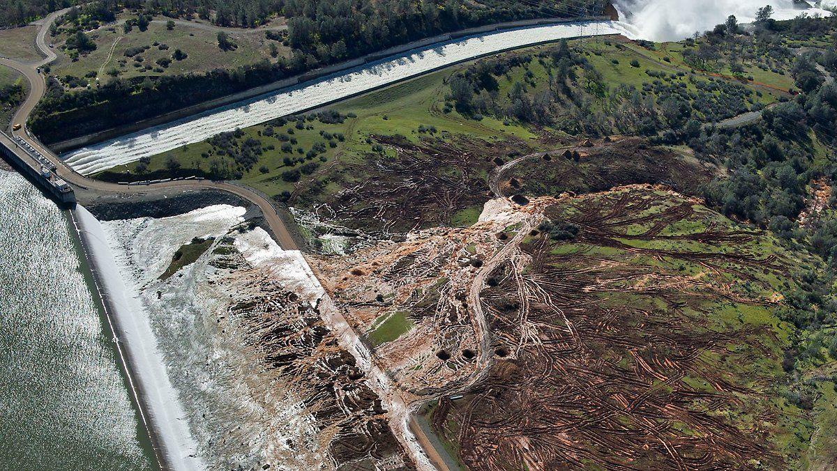 190.000 Menschen in Gefahr: Der Oroville-Staudamm könnte brechen
