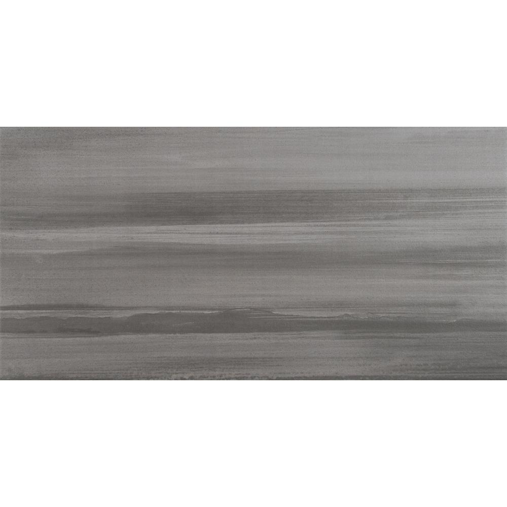Msi Water Color Graphite 12 In X 24 In Glazed Porcelain Floor And