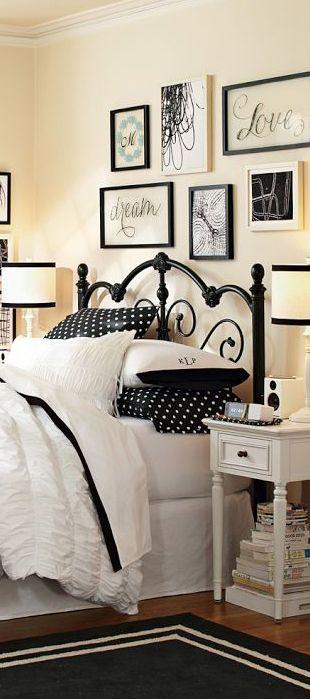 Girls Bedding & Bedroom Design Ideas | White stuff, Wall ...