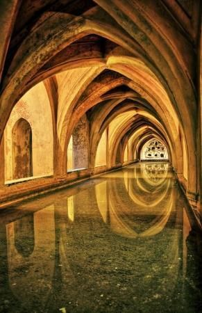 Baños Sevilla | Los Banos De Dona Maria De Padilla Rainwater Tanks Baths Of Dona
