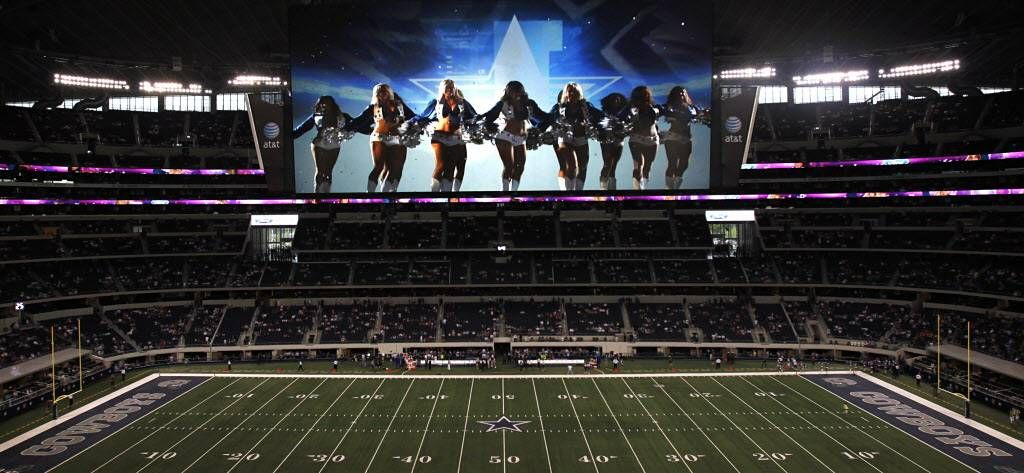 Sports Illustrated AT&T Stadium's monstrous video board
