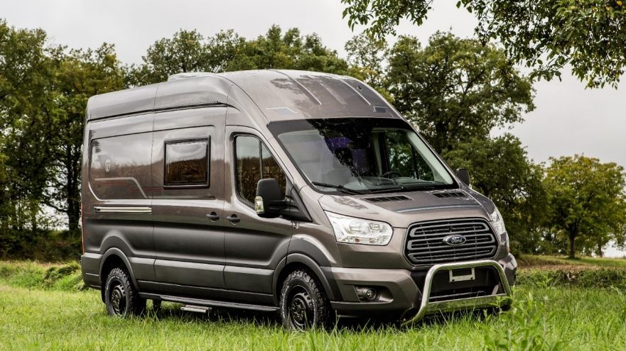 Ford And Trigano Deliver Transit Motorhomes With Intelligent Awd Introduce Extended 5 Year Warranty On Ford Transit Ford Transit Campervan Ford Transit Camper